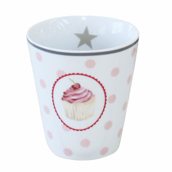 Happy Mug Becher Muffins And Dots