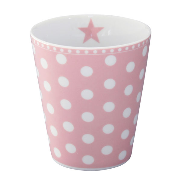 Happy Mug Becher New Dot Pink