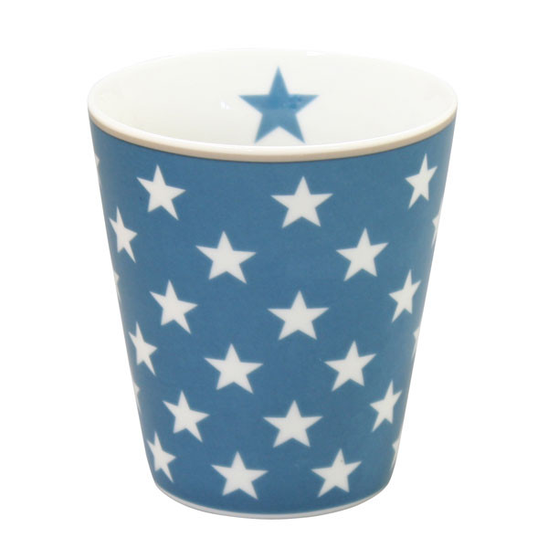 Happy Mug Becher Star Dark Blue