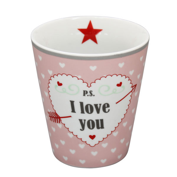 Happy Mug Becher P.S. I Love You