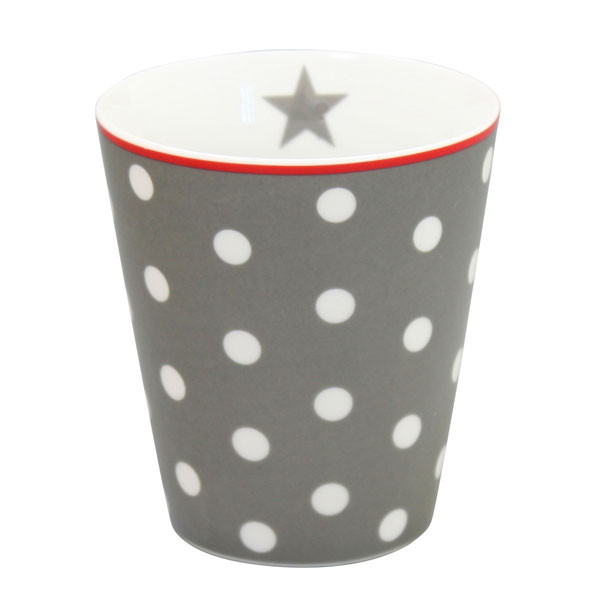Happy Mug Becher Dot Charcoal