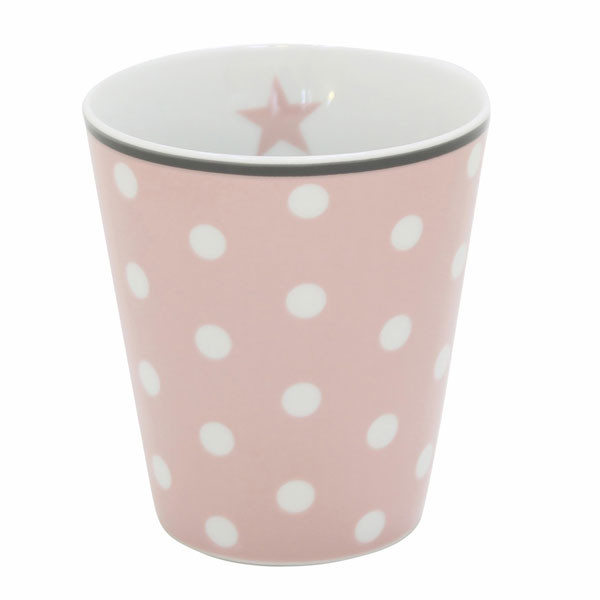 Happy Mug Becher Pink Dot