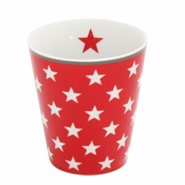 Happy Mug Becher Red Star
