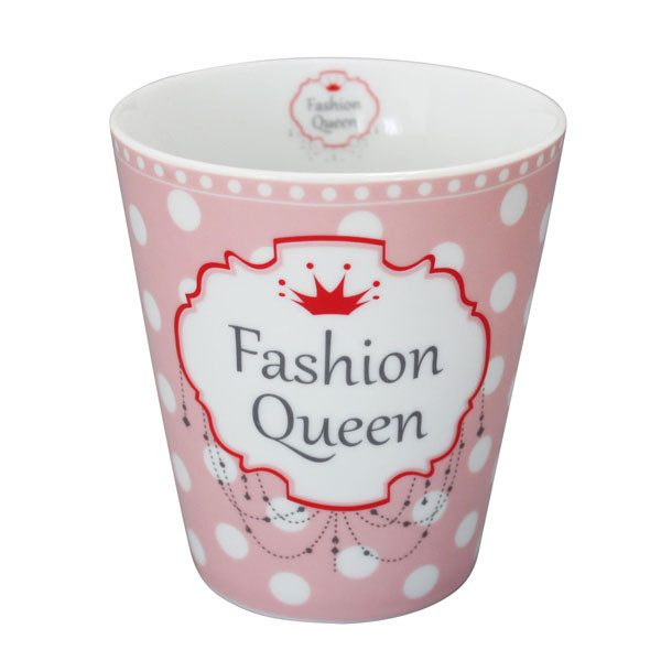 Happy Mug Becher Fashion Queen